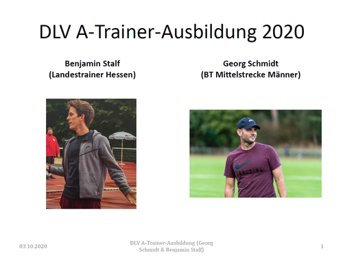 Neue Inhalte in Trainingsplanung / -methodik
